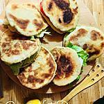 recette Petits pains aux sardines et crudités