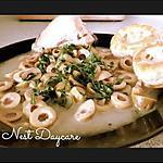 recette Tajine aux olives, champignons et aux mini Vols au vent au gouda et au bœuf haché