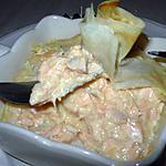 recette Aumônières de saumon frais.