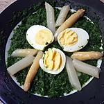 recette Épinards asperges œufs durs