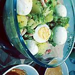 recette Salade de pommes de terre et bricolis