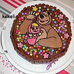 recette Gâteau Masha et Michka