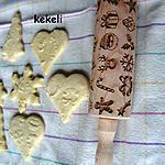 recette Sablé décorés au rouleau