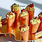 recette Amuse bouche cornet de tomate et salade de thon