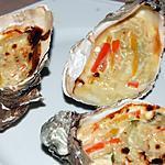 recette Huîtres chaudes  au champagne du blog cccuisine.over-blog.com