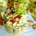 recette Amuse bouche salade de brocoli, végétarien