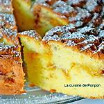 recette Gâteau au yaourt à la confiture de clémentine corse, agrumes confits et confiture de lait