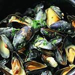 recette moules façon marinière
