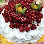 recette Pavlova aux fruits rouges