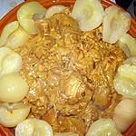 recette Roti de dinde aux poires et boursin