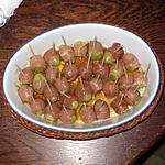 recette Raisins Italia enrobés de jambon de Parme