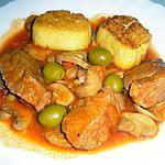 recette Sauté de veau Marengo