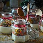 recette Verrines pannacotta crème d'ail et légumes du soleil