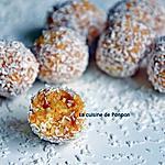 recette Boule aux noix de cajou et caramel vegan avec seulement 2 ingrédients!