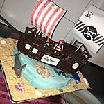 recette Gateau bateau de pirate