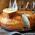 recette Brioche des Rois à l'orange confite pour l'Épiphanie