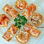 recette Amuse bouche au saumon fumé et crevettes, sans cuisson