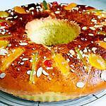 recette Roscón de Reyes, la galette des rois espagnole