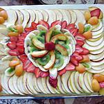 recette tarte aux fruits autre présentation 2