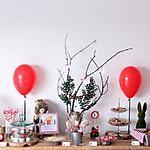 recette Buffet d'anniversaire *Théme forêt enchantée* pour les 5 ans de notre fils