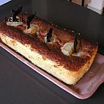 recette Cake aux poires debout