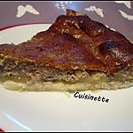 recette Tarte aux pommes,crème noisettes,Mascarpone.