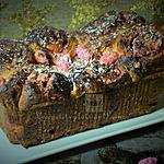 recette Brioche feuilletée aux pralines roses