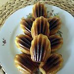 recette Madeleine légère au citron ou orange