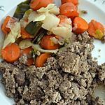 recette Far noir aux légumes