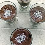 recette mousse chocolat noix de coco