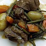recette mijoté d'agneau et ses légumes