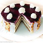 recette Gâteau d'anniversaire de Nicolas Piacello revisité sans gluten sans lait, sans sucre, sans levure
