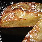 recette Gâteau aux pommes et calvados