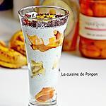recette Yaourt spiruline, banane, melon et baba au limoncello