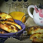 recette Petits pains aux raisins faits maison