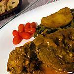 recette Viande d'agneau aux légumes