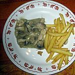 recette Vol au vent au poulet sans forme