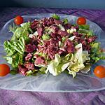 recette Salade très gourmande