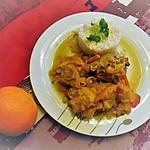 recette Cuisses de Poulet à l'orange