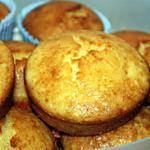 recette Muffins chocolat blanc/noix de coco