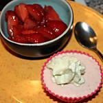 recette Parfait aux fraises