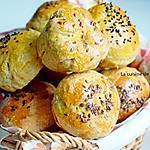 recette Petits pains au pesto d'olives et effiloché de porc