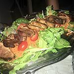 recette Salade au magret de canard