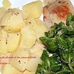 recette Escalopes de Dinde à la cancoillotte aux noix