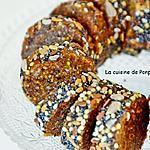 recette Tranches d'énergie aux dattes, figues, amandes, noix de cajou, vegan