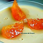 recette Panna cotta à la confiture de clémentine sur un lit de confiture de lait