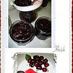 recette marmelade de cerises