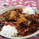 recette Cuisse de dinde  à la mexicaine  .....   de  ° Lauranou °
