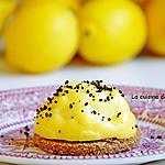 recette Tartelette au citron jaune et poudre de combava