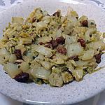 recette Chou blanc à l'indienne